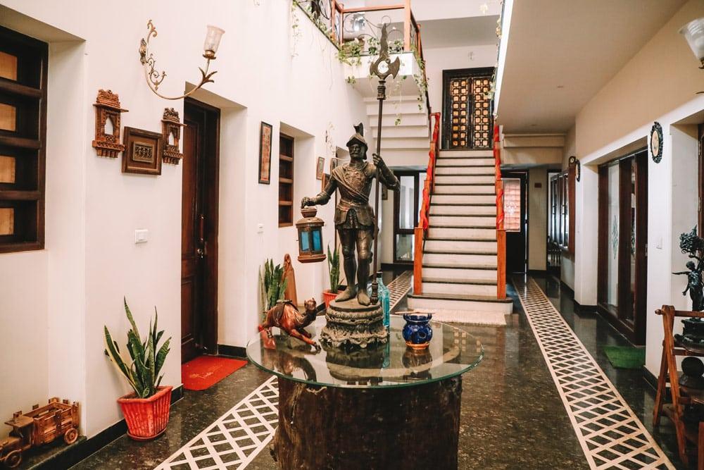 où dormir Taj Mahal Agra maison d'hôtes propre charmante