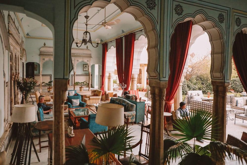 plus beaux hôtels du Rajasthan voyage Inde