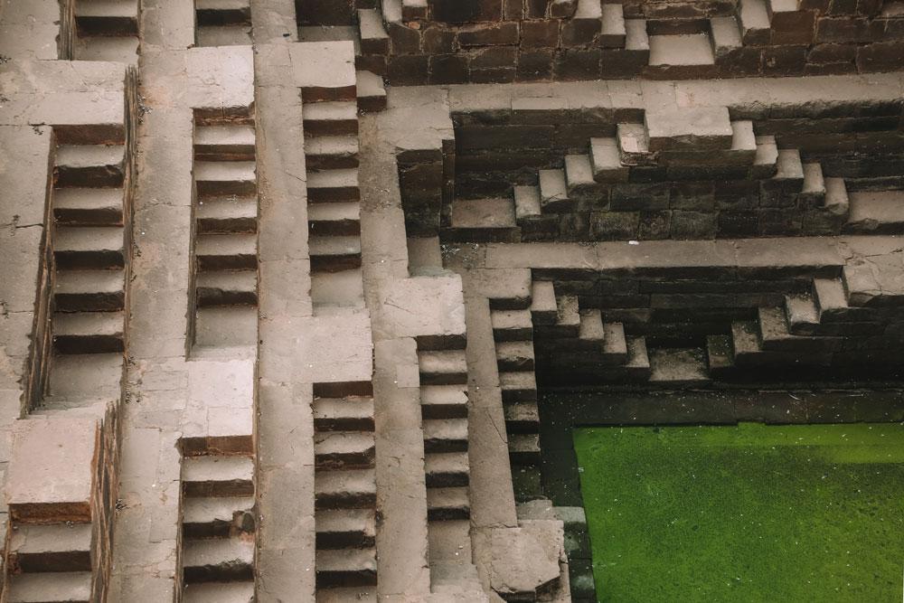 puits à degrès Inde du Nord incontournables Rajasthan
