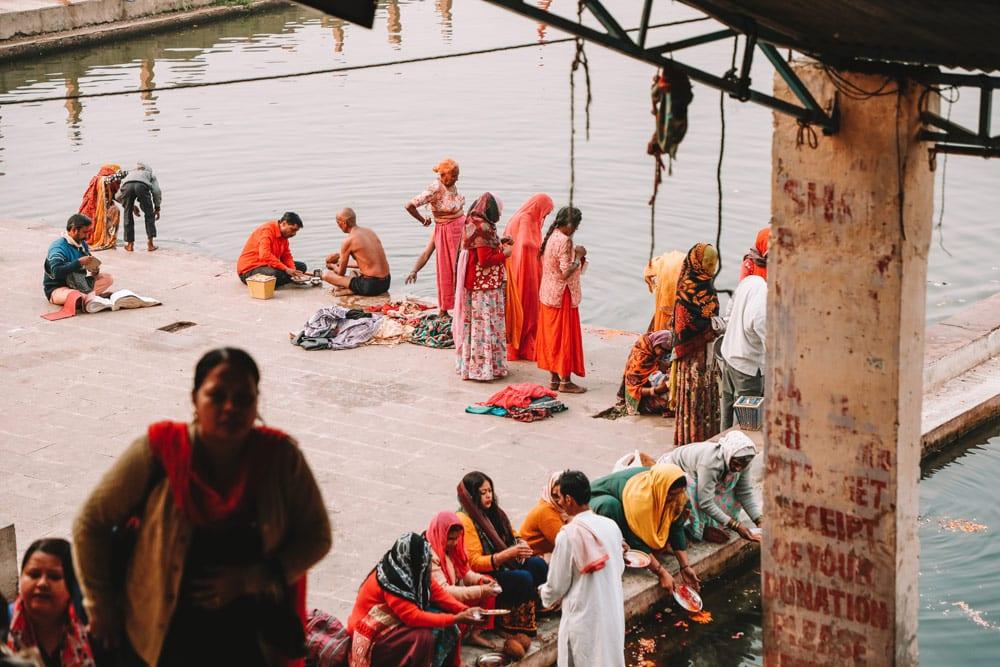 Pushkar bains prières indiennes rituels