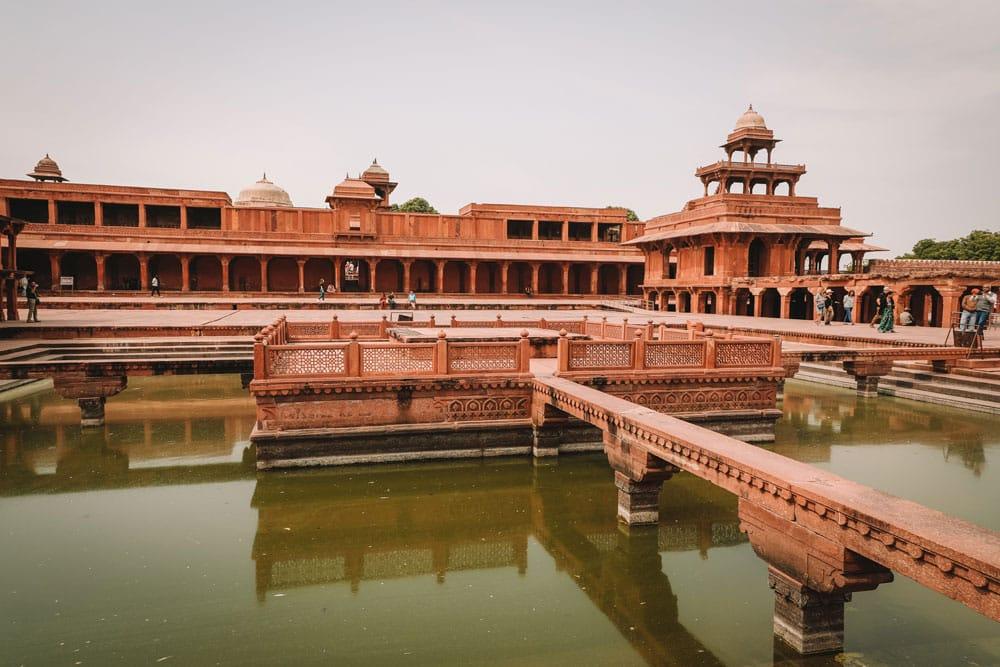 que faire autour Agra Inde visiter palais Fatehpur Sikri