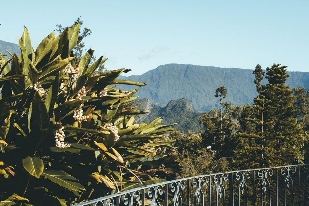 restaurant avec vue terrasse Hell Bourg Réunion