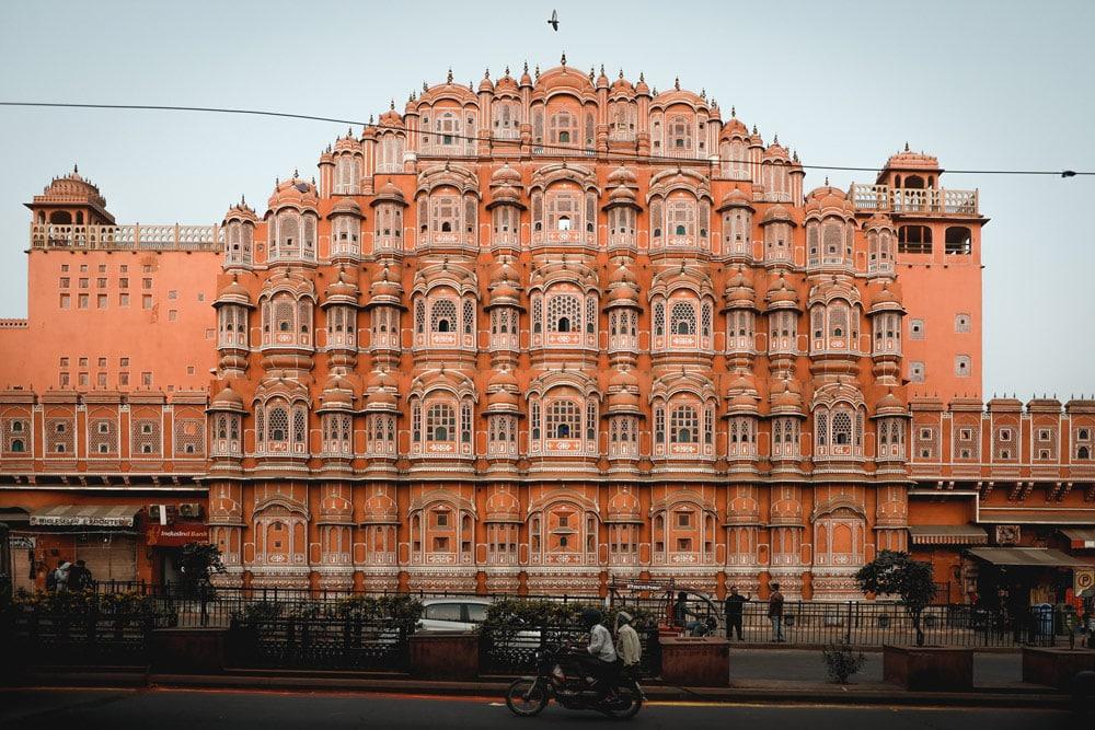visiter palais Jaipur façade rose connue instagram