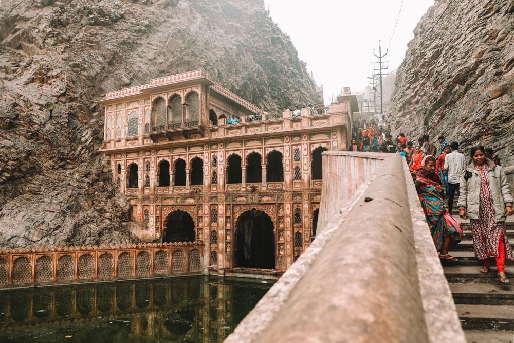 visiter temple vallée Galta Jaipur