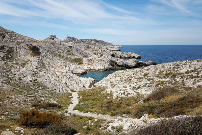 grands espaces naturels Provence