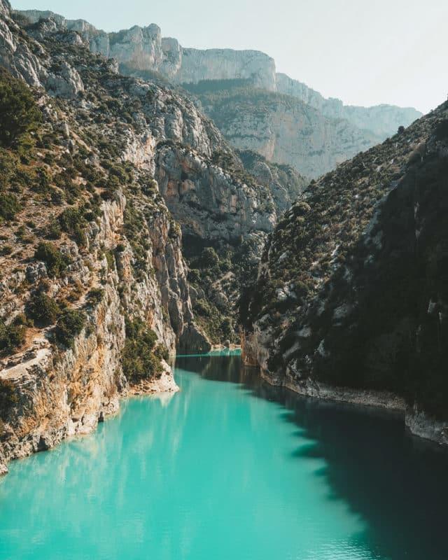 merveilles naturelles parc naturel Verdon sud France