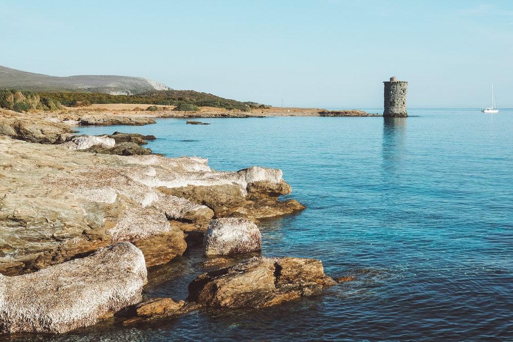 plages désertes Cap Corse weekend nature