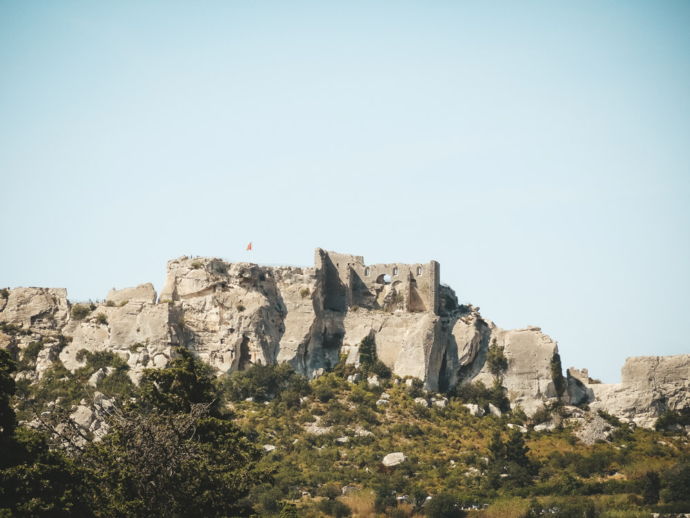 plus bel endroit sud France Baux de Provence