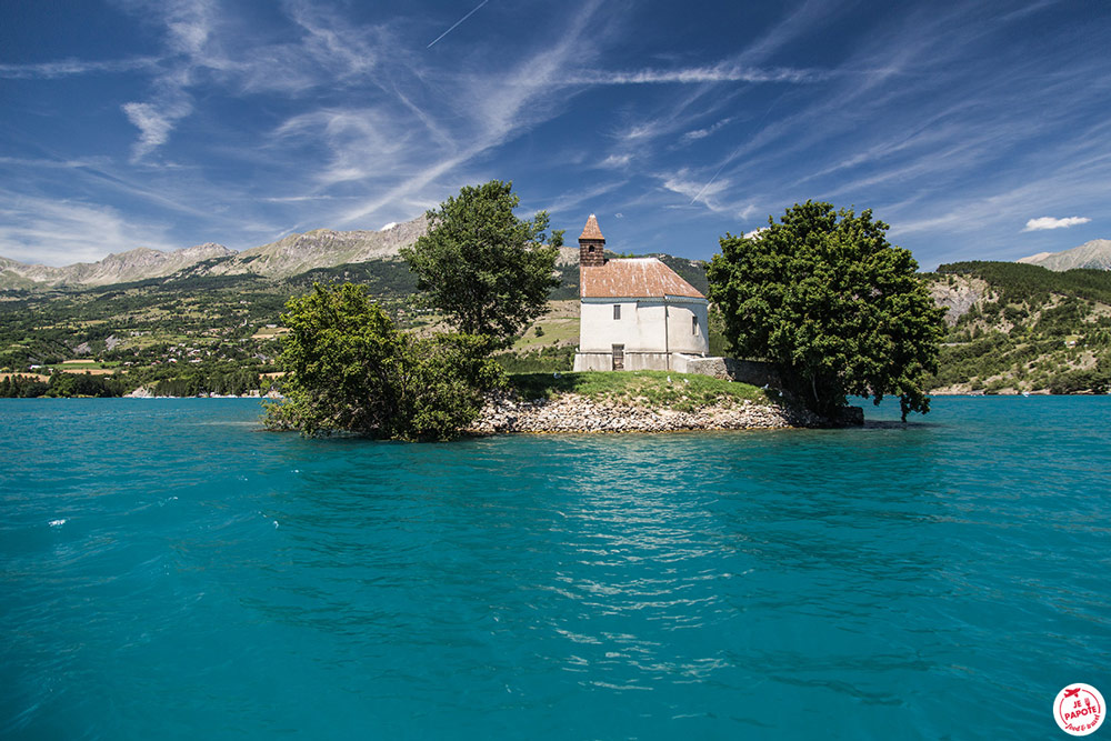 que faire Sud France Lac de Serre-Ponçon blog jepapote