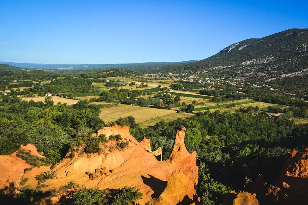 visiter Colorado Provençal Rustrel