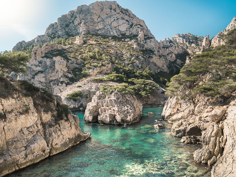 week end nature du sud France Calanques
