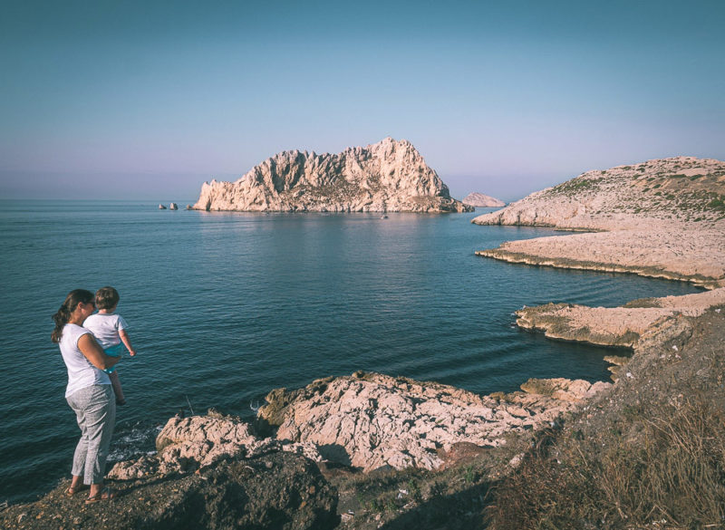 weekend calanques en famille