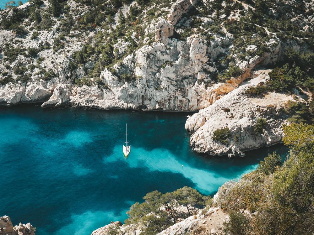 belle criques abritées calanques de Marseille