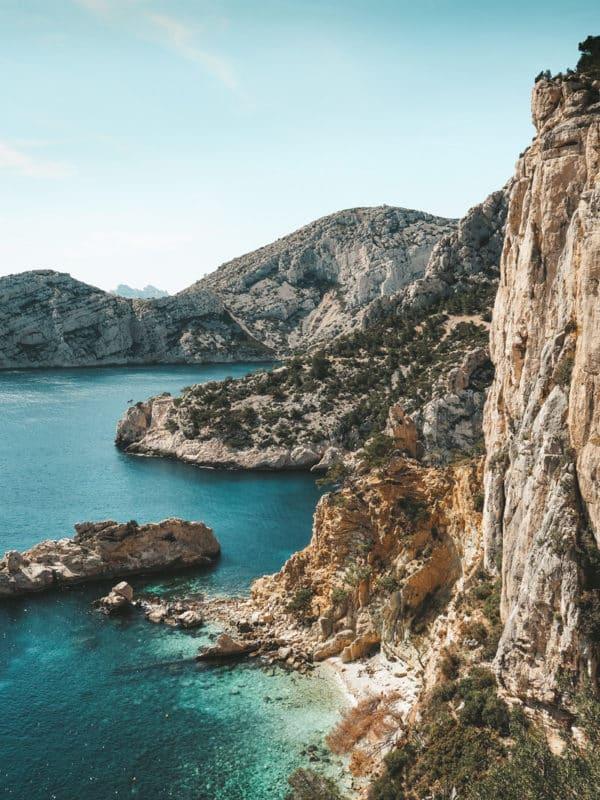 calanque des pierres tombées interdite Marseille