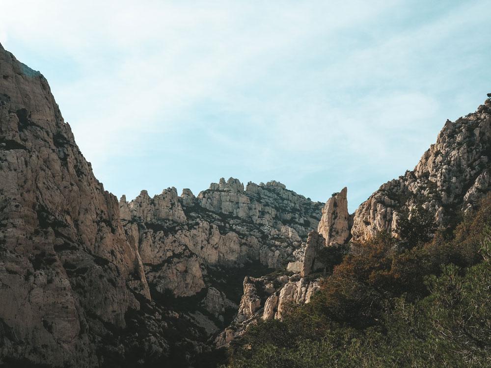 comment visiter les calanques de Marseille Cassis
