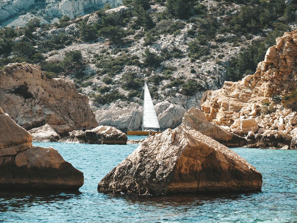 croisière Marseille Calanques promenade en mer