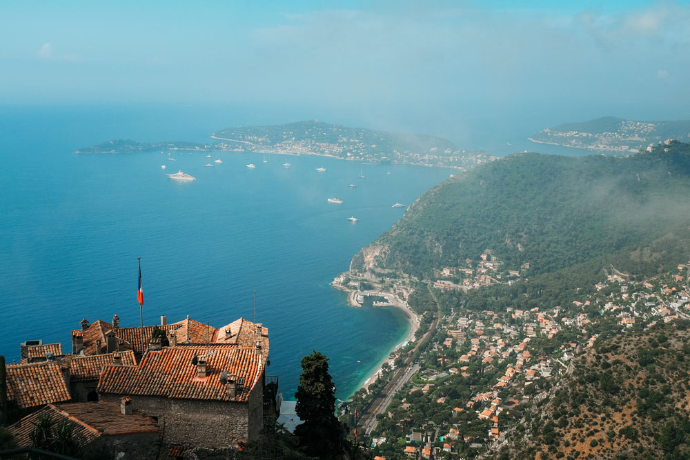 Eze plus beau village Cote d'Azur
