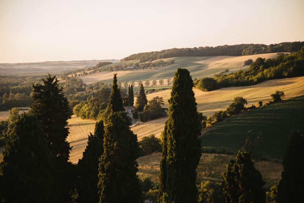 village Lectoure Toscane Gers