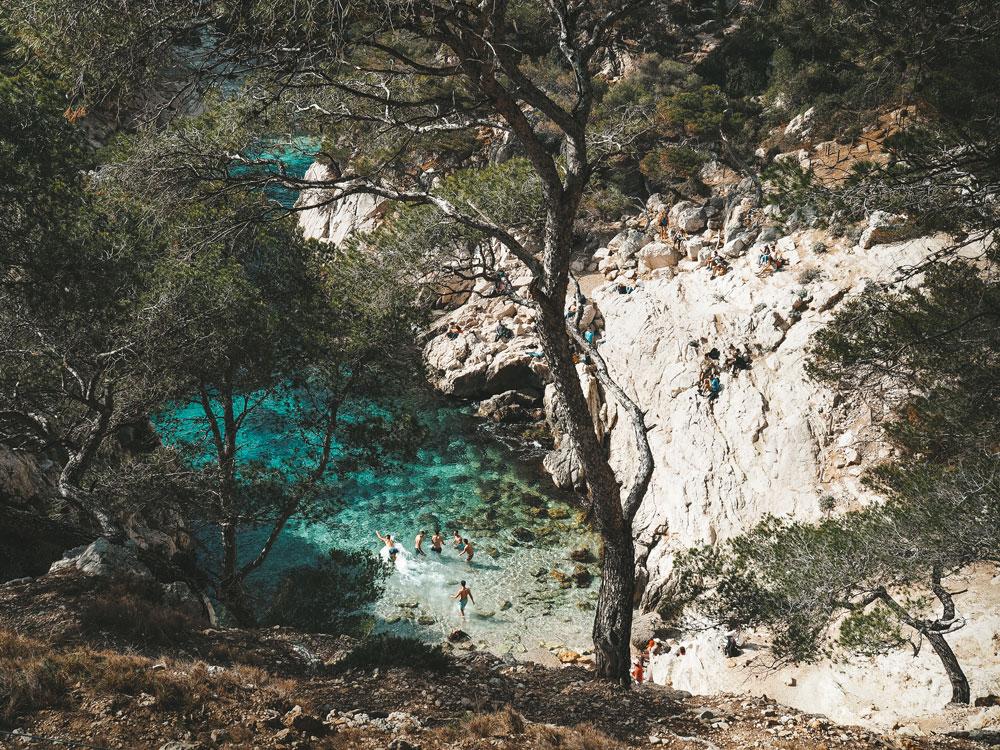 où se baigner dans les Calanques de Marseille Cassis