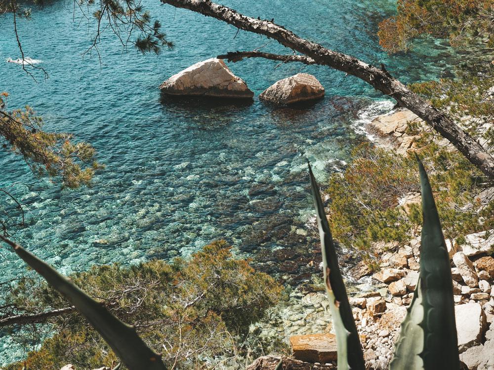 parc national des calanques Marseille Cassis été juillet août