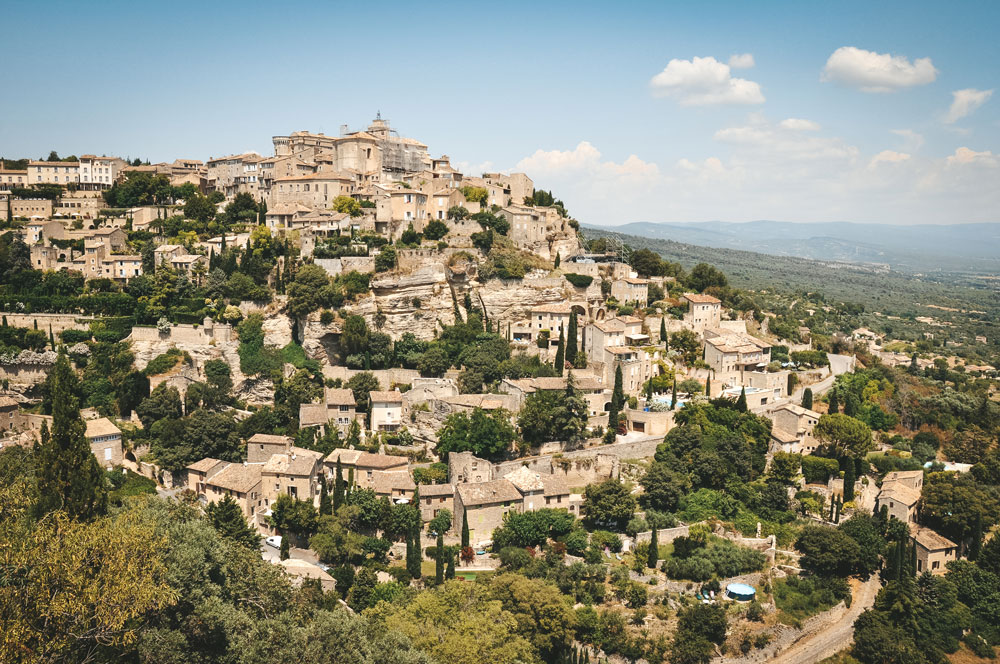 plus beau village du sud France Gordes Luberon