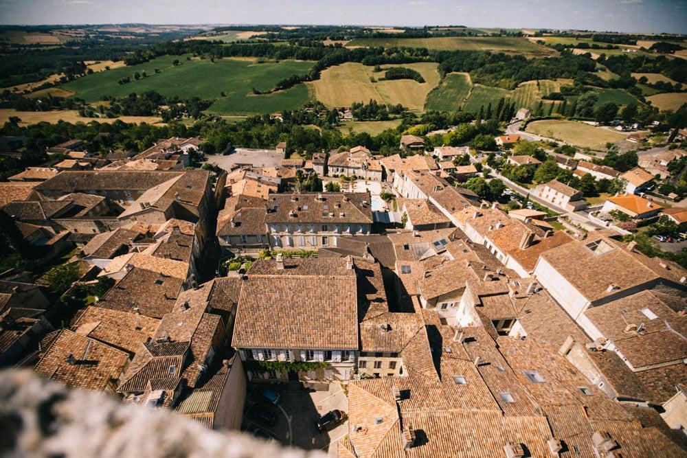 plus beau village du Gers Lectoure