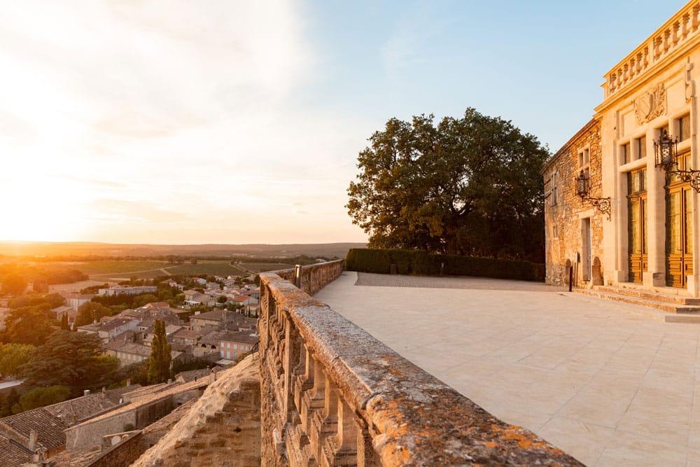 plus beau village Provence Grignan château