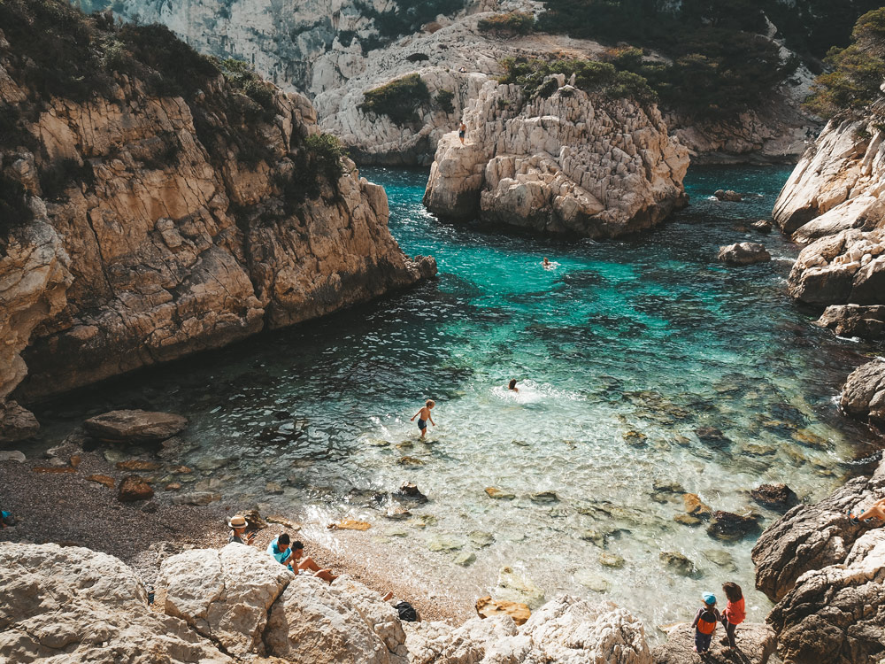plus belle calanque de Marseille Sugiton