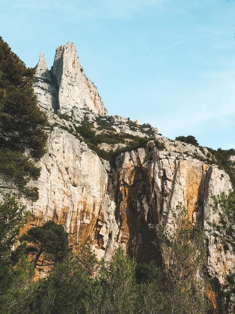 randonnée dans les plus belles calanques Grande Candelle