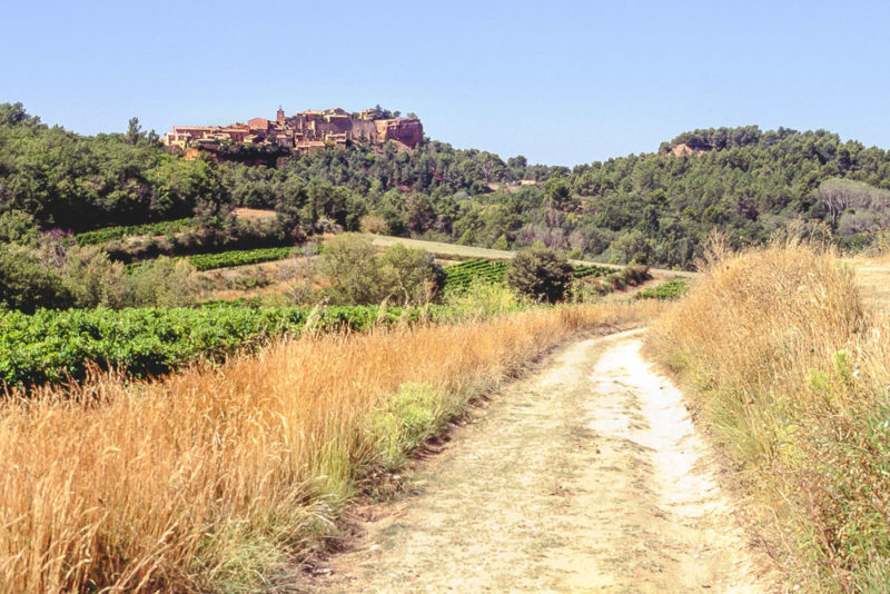 Roussillon plus beaux villages sud France