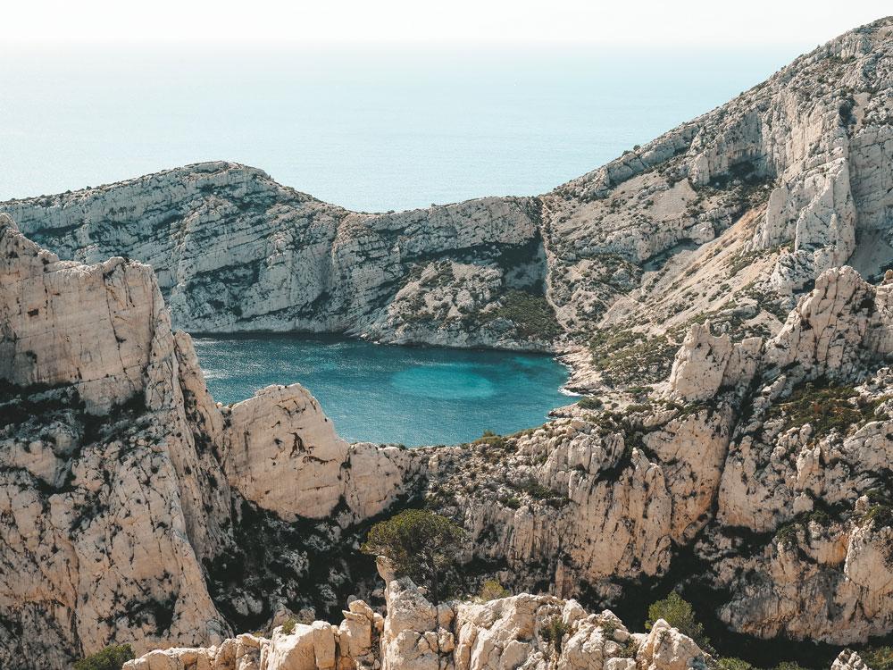 spots de rêve des calanques Marseille Cassis