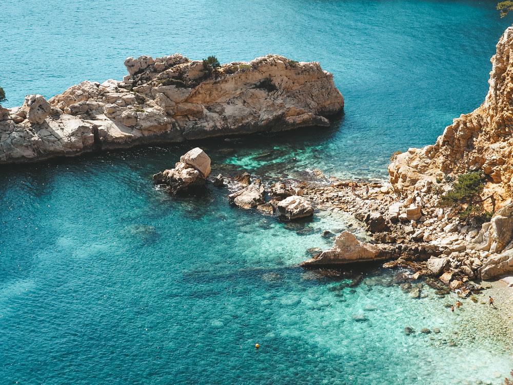 visiter les calanques de Marseille Cassis