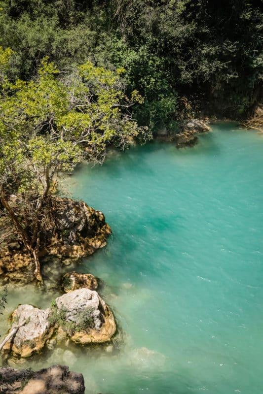 baignade à Sillans la Cascade itinéraire