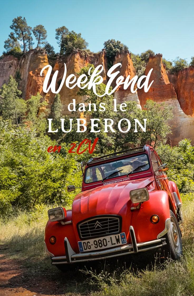 long week-end dans le Luberon