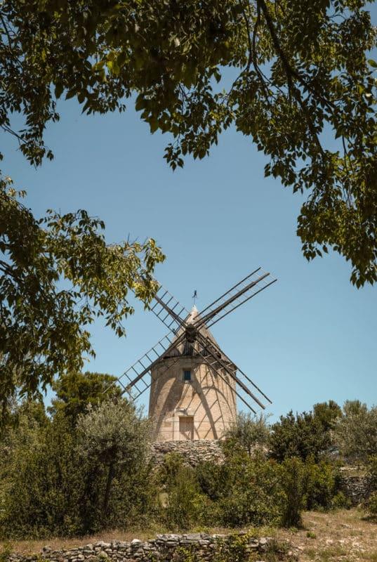 moulin Joucas week end dans le Luberon
