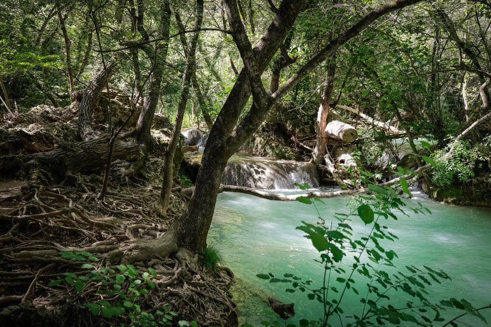 où se baigner à la cascade de Sillans
