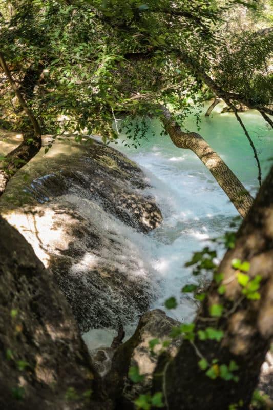 où se baigner Sillans-la-Cascade Provence