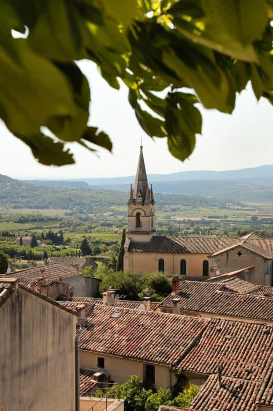 plus beau panorama route Bonnieux