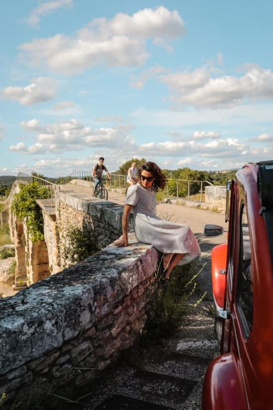 road trip 2CV dans le Luberon