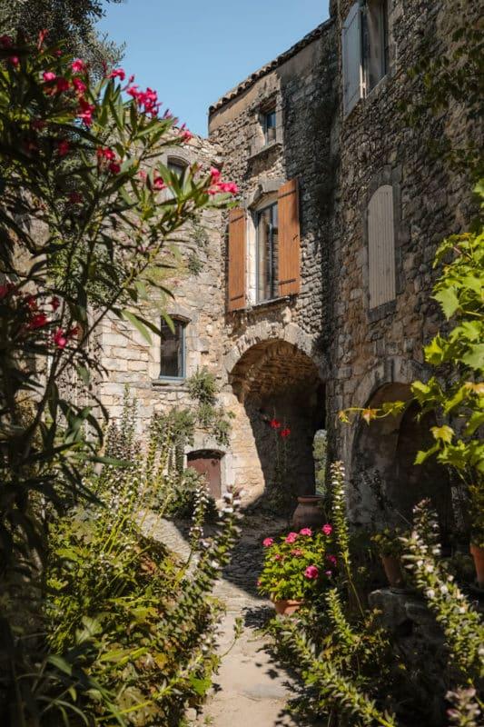 road trip dans le Luberon Oppède-le-Vieux