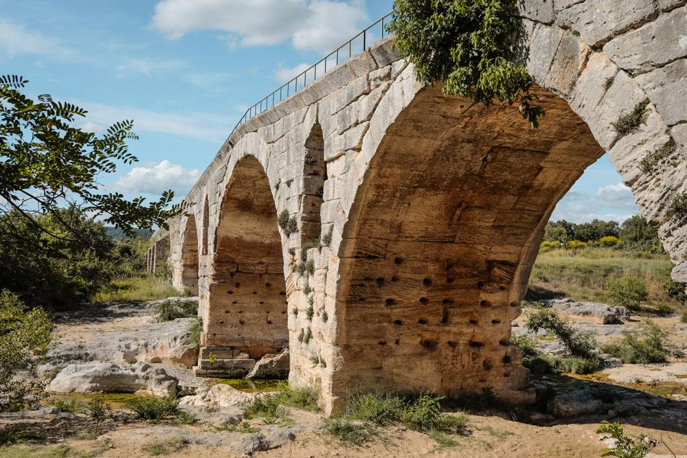 Week-end dans le Luberon Pont Julien Calavon