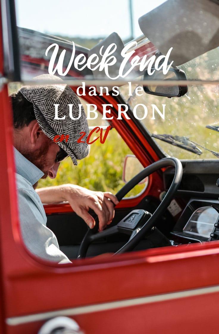 week-end en 2cv Luberon