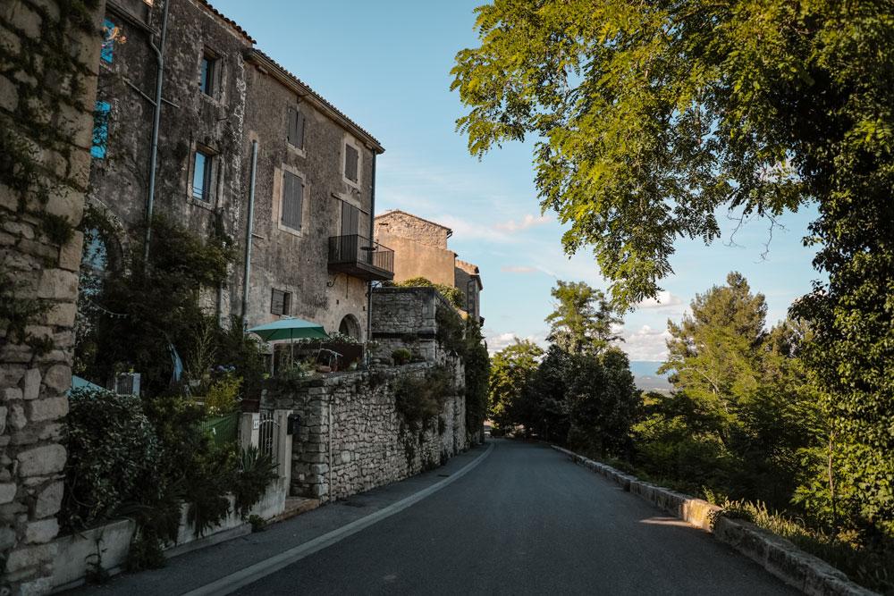 week-end évasion village Lacoste Luberon