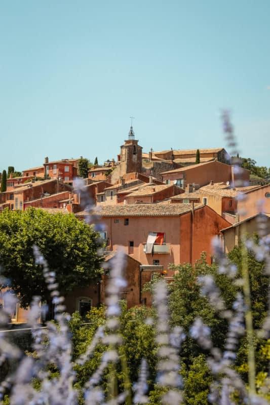 week-end villages du Luberon Roussillon