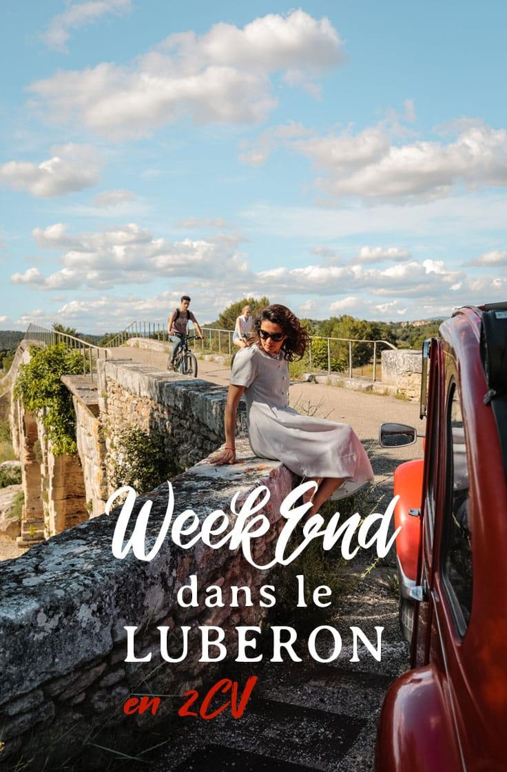 week-end 3 jours Luberon que faire