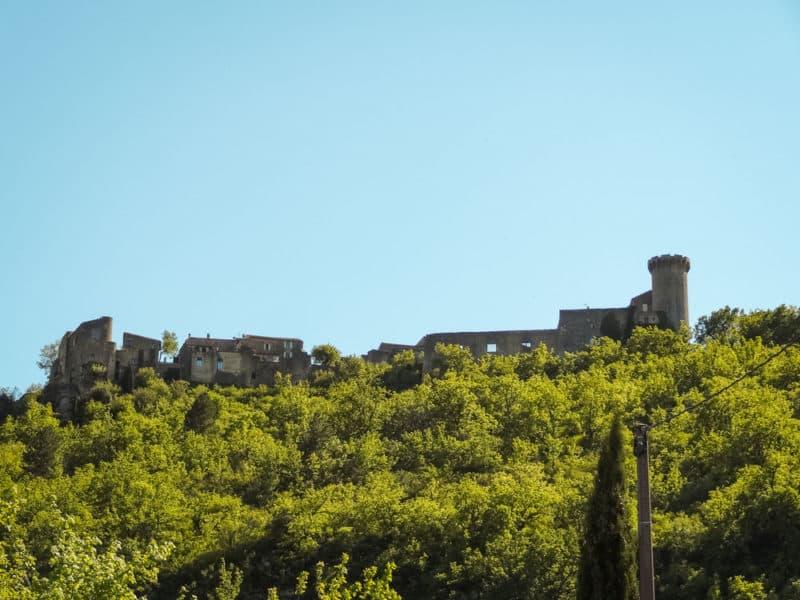 château du Luberon Oppedette