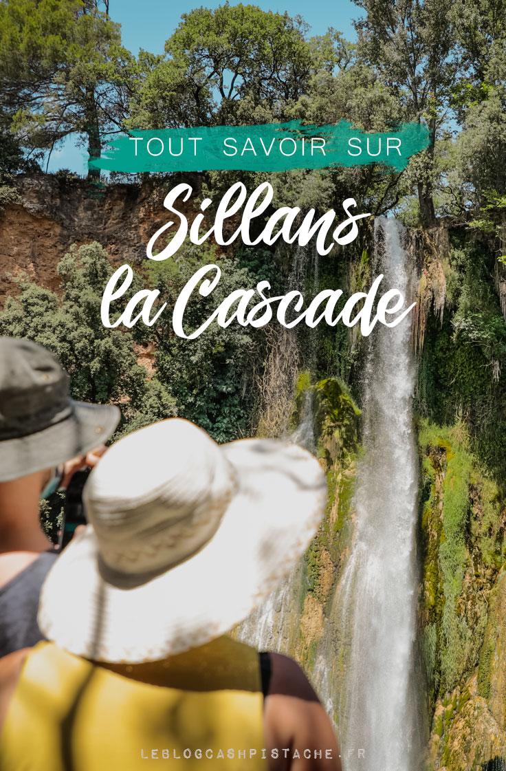 comment voir cascade de Sillans en Provence