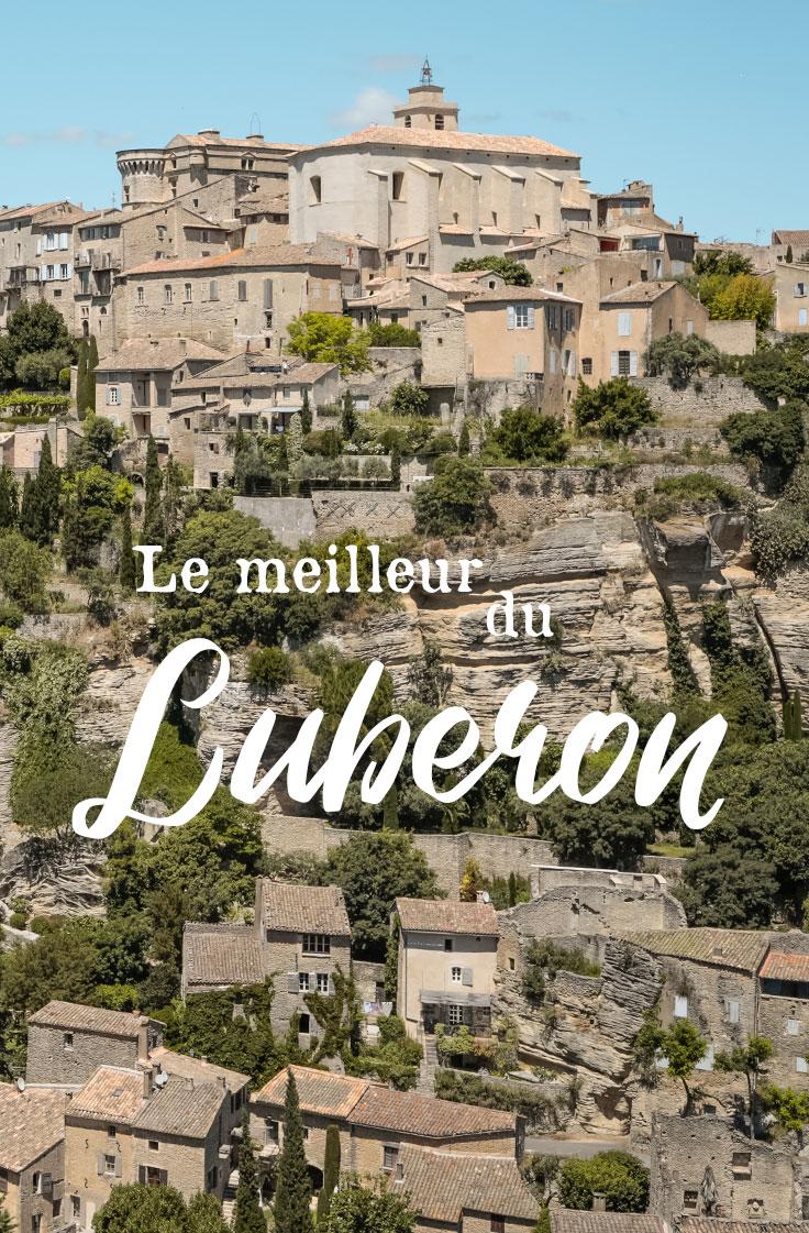 faire le meilleur du Luberon voyage