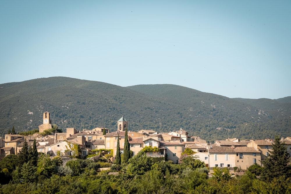 faire les plus beaux villages Luberon coté sud