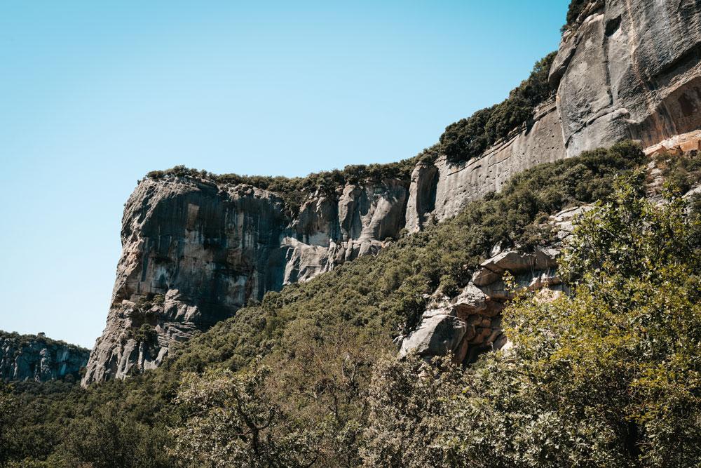 Vaucluse voir falaises de Buoux